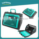 Cheap wholesale plastic dog cages crates, custom made commercial pet cages for dog