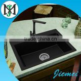 Top counter farmhouse quartz stone sink / kitchen deep single -bowl sink