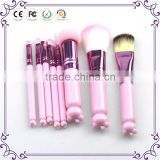 Christmas Gift ! hot 8pcs hello kitty makeup brushes professional cosmetic brush with mirror