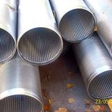 continuous slot wire wrapped  screen Johnson screen pipe water well screen