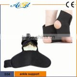 FDA CE sport neoprene orthopedic ankle support foot sleeves / Enhance ankle fracture brace / CE proved adjustable ankle support