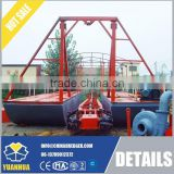 bucket dredge equipped with diesel engine pump set 45 - 60 output capacity