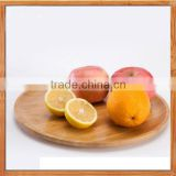 round bamboo plates, serving platter & storage trays wholesale