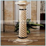 beautiful Natural artificial Marble stone Pedestal Sculpture