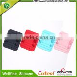 Universal silicone Material Anti-slip Mount Smart Phone Holder Mat Stand Silicone mat, GPS Suitable