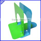 "High quality colored simple design 5""metal desktop bookend"