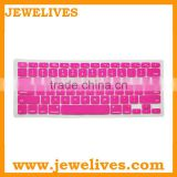 Fashion color silicone laptop keyboard cover,waterproof keyboard cover