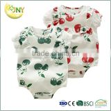 Wholesale Customized OEM Baby Product Clothes Infant Plain bamboo onesie