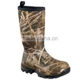wholesale waterproof camouflage hunting rubber boots