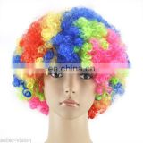 Afro twist clown rainbow wigs FGW-0037