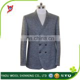Double breasted suit men / custom made suits / mens wool suit