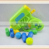 kids plastic toy ping pong ball shooting game toys