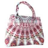 Indian Mandala Hand bag Handmade handmade mandala tote bag girls shopper bag Handle bag Mandala cotton tapestry hobo handbag