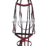 High Durable Adjustable Eco Friendly New Design Racing Horse Bridle