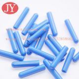 Jiayang ABS blue customized logo plastic aglets