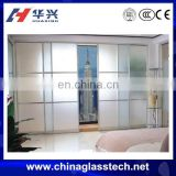 CE certificate factory direct price pvc profile/frame white Size customized small sliding door cabinet