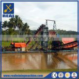 High efficient gold mining equipment Bucket Chain Gold Dredge for sale