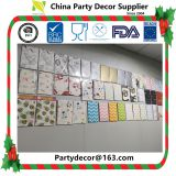 Ningbo PartyKing plastc free paper tablecover table cloth suitable for party tableware range meet EN71 and FDA standard