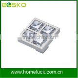 Crystal and demond handle for wardrobe fitting handle hardware