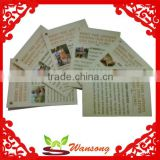 2016 wholesale custom art paper printing creative instruction paper card                                                                         Quality Choice