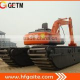 China manufacturer of 20t amphibious excavator with HITACHI excavator also called marsh buggy