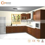 Kitchen cabinet with acrylic door panel,granite kitchen sink