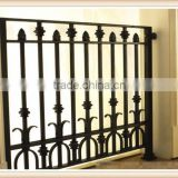 GYD-15B083 Customed wrought iron balcony wood fence designs