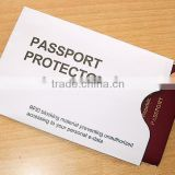 RFID blocking secure sleeve holder for ID/ Debit / Credit / Payment card / passport 0082