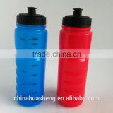 Hot sales BPA Free HDPE 750ml travel Water Bottle Sport drinking bottle with transparent tick mark