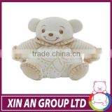 New organic cotton baby big animal soft toy, baby cute and lovely animal doll BT01