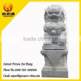 white marble lion sculpture