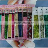 Hot ! Summer Fashion ! New colors nail art shell sheet warp sticker decorations For UV gel acrylic Nail Decals,1PC/card