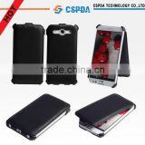 Heat setting cover case for LG Optimus G Pro f240,flip leather smart phone case