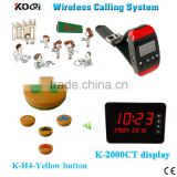 Best Price Quality Primacy Display+Watch+Call Button Customer Paging Waiter Pager Ordering Restaurant System