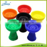 2016 Hot New Style Silicone Hookah Bowl Silicone Shisha Bowl Hookah Charcoal Holders