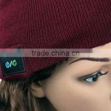 2015 hot high quality wholesale girls males knit slouchy beanie bluetooth cap                                                                         Quality Choice