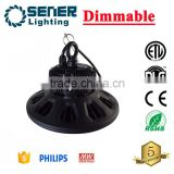 Private Mould UFO Highbay 80W 100W 160W 200W 240W 5 Years warranty Dimmable LED High bay light
