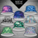 3d digital print bucket hat fullprint galaxy aztec weed bandana wholesales top hatreversible outdoor sun caps unisex