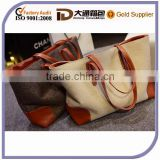 New Stylish Large Laundry Fashion Girl Wholesale Canvas Bag