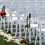whosale white resin wedding folding chair                                                                                                         Supplier's Choice