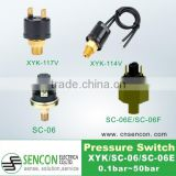 Air ,Oil ,water Pressure switch witch connector DT06-2s