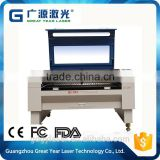 Guangzhou factory supplier laser cutting and engraving machine for PVC, wood, MDF, acrylic, organic glass