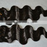 Wholesale 100% Indian Remy Human Hair Extension 16 inch Body Wave color #2 100 gram/pcs
