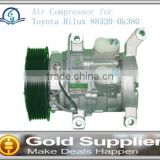 Brand New Air Compressor for Toyota Hilux 88320-0k380 88320-0k100 10S11E with high quality and most competitive price