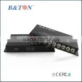 1/2/4/8/16/32 channel video fiber optical BNC to UTP converter,with Audio Data Ethernet function