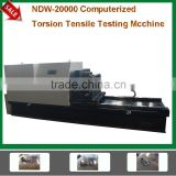 Customized 20000 N.M. Threaded Bolt Torsion Tension Testing Machine Double Function