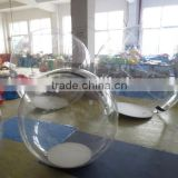 inflatable rolling ball for kids for sale/ inflatable bubble sphere