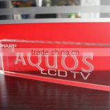 3d laser logo clear cube crystal book paperweight