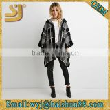 Woman fashion poncho