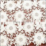 Guipure white nice deisgn bulk french lace fabric                                                                         Quality Choice